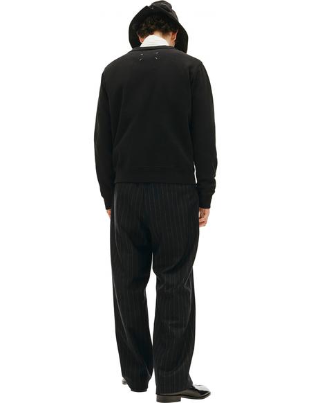 Maison Margiela Embroidered Sweater - black