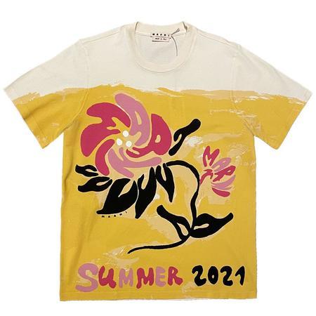 Marni Floral T-Shirt - White/Multi