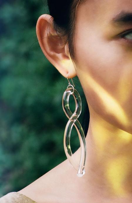 Corey Moranis Twist Earrings