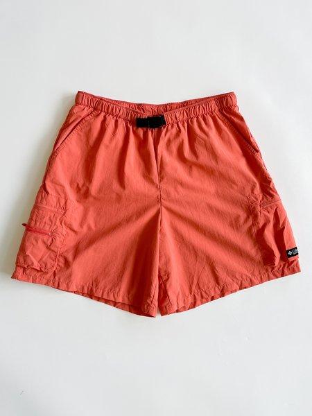 Vintage Nylon Cargo Shorts - Salmon