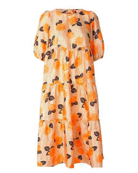 Cras Akia Dress - Coral Rose