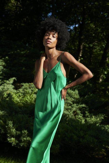 KES 7/8 Triangle Slip Dress - Organic Lac Beetle