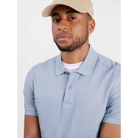 J Lindeberg Troy Pique Polo Shirt - Blue