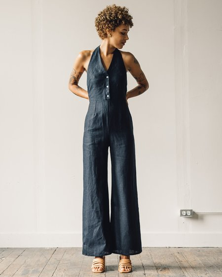 Paloma Wool Beirut Jumpsuit - Navy