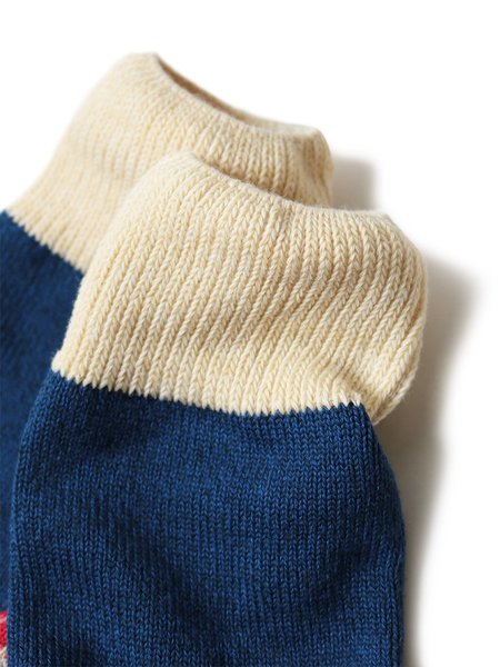 Kapital 96 Yarns Heel Bandana Socks - Red