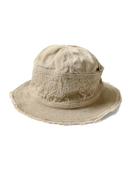 Kapital Chino The Old Man And The Sea Soft Crush Remake Hat - Beige