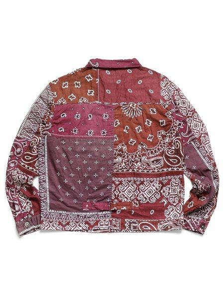 Kapital Gauze Bandana Patchwork 1st Jacket - Enji