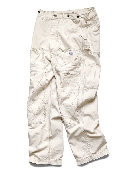 Kapital Light Canvas Lumber Pants - Natural