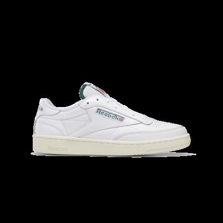 Reebok Club C 85 Men GW5334 sneakers - White/Dark Green