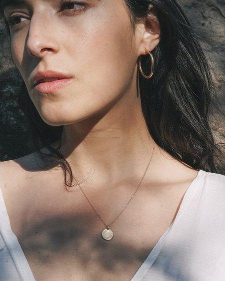 Amanda Hunt Arroyo Hoops - Bronze/Silver