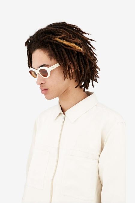 unisex RetroSuperFuture Cocca eyewear - Panna