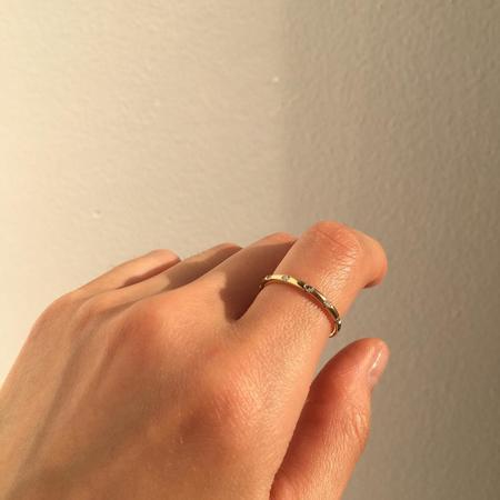Jennie Kwon Designs Diamond Dot Ring - 14K Yellow Gold