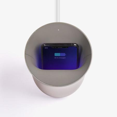 Lexon Oblio Wireless Charger & UV Sanitizer