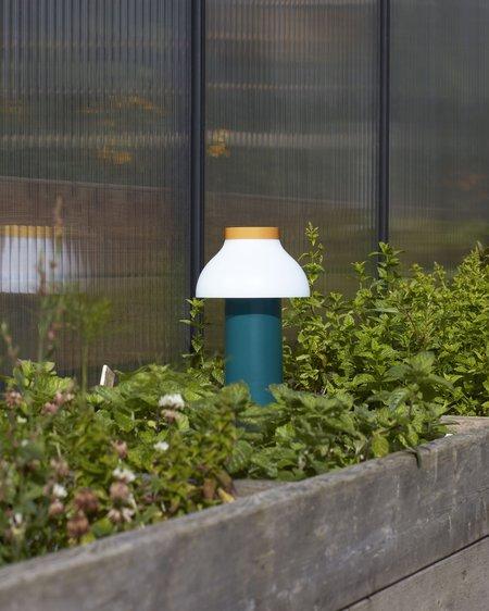 Hay Lámpara portátil PC Portable Lamp - Ocean Green