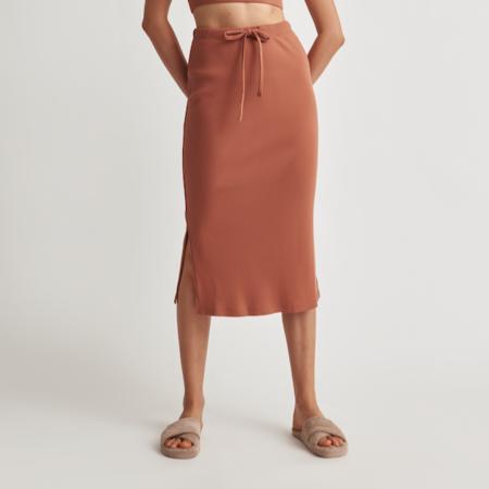 Skin Imani Skirt - Ginger Biscuit