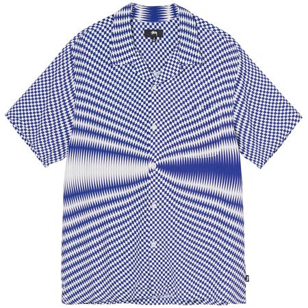 Stüssy Psychedelic Check Shirt - White