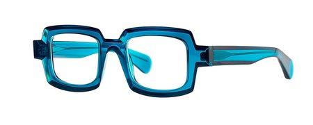 Theo Mille 82 eyewear - blue