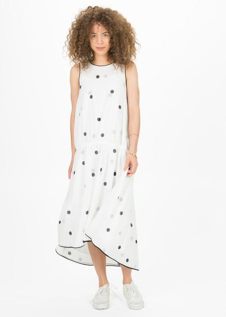 Odeeh Drop-Waist Dress with Slip