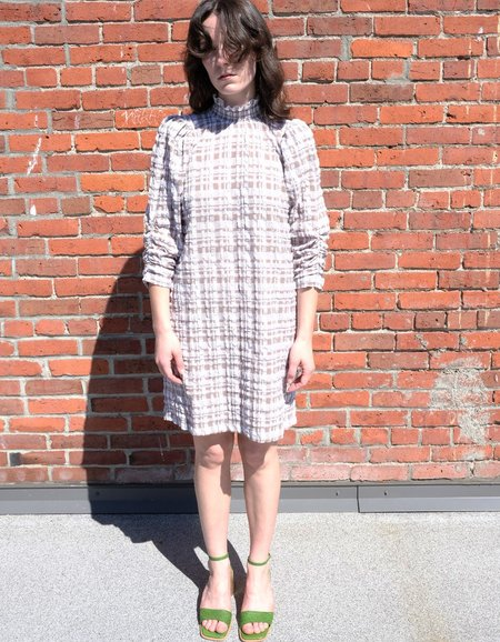 Just Female Hamilton Dress - Hamilton Check