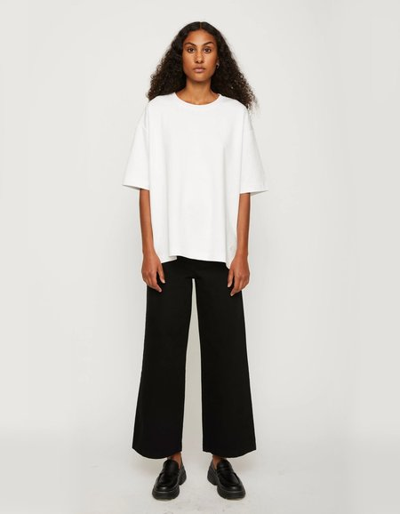 Just Female Kyoto Long Tee - White