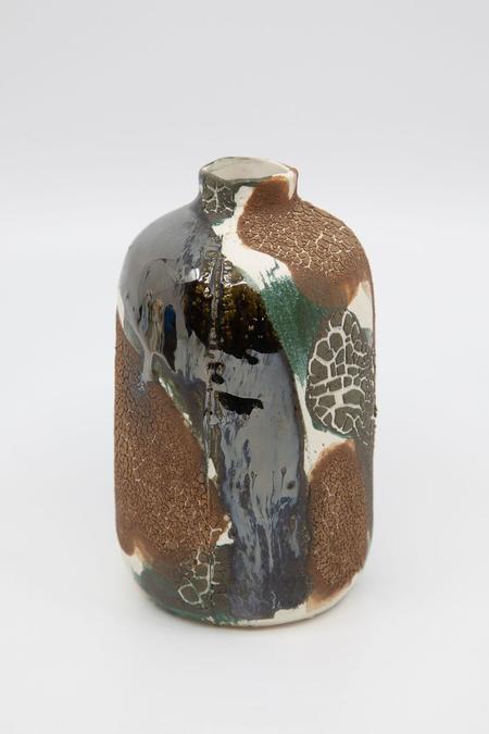 Daren Wilson Dry Bud Vase 4 - Brown/Gray