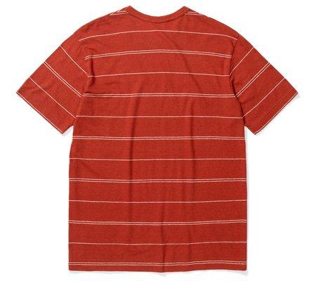 Norse Projects Joakim Cotton T-Shirt - Linen Fine Stripe