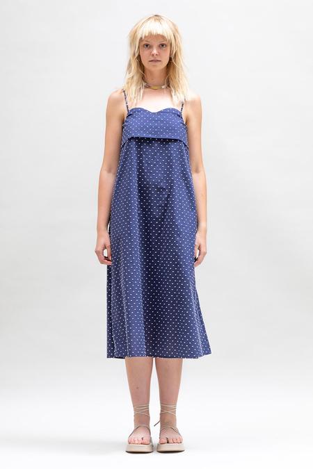 Toit Volant Verona Dress 2.0 - Blue/White