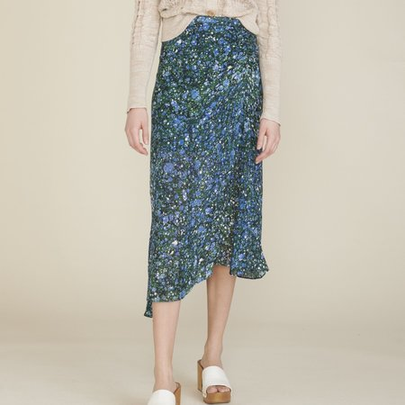 Veronica Beard Limani Skirt - Green Multi