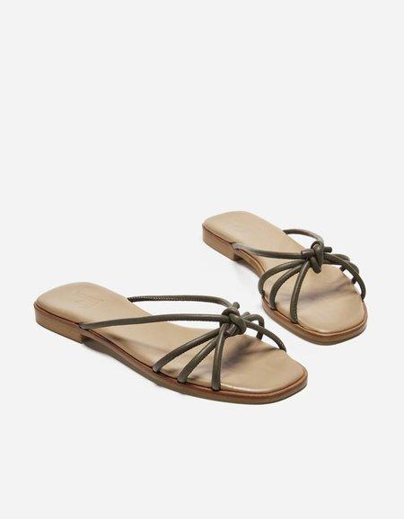 Flattered Yvette Sandal - Khaki