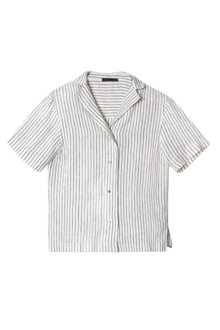 KES Relaxed Havana Linen Shirt - Stripes