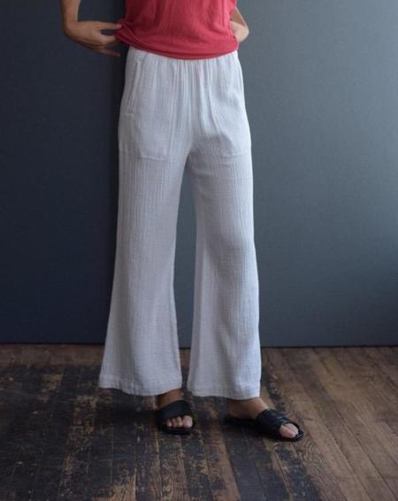 Raquel Allegra Gauze Pants - Dirty White