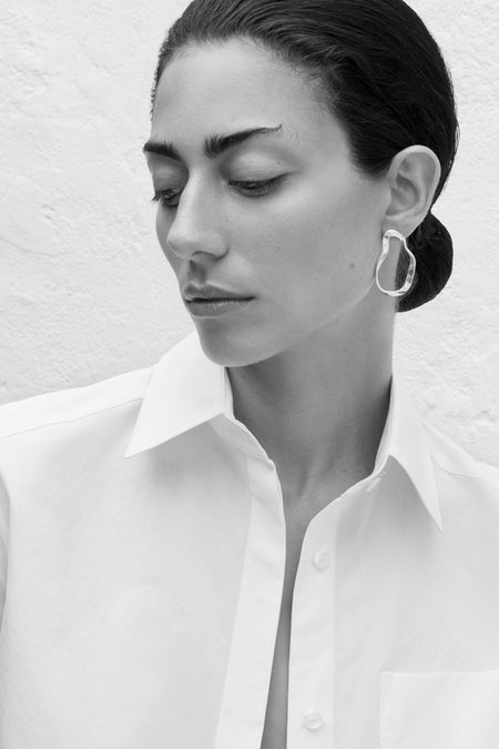 AGMES Small Vera Earrings - Sterling Silver