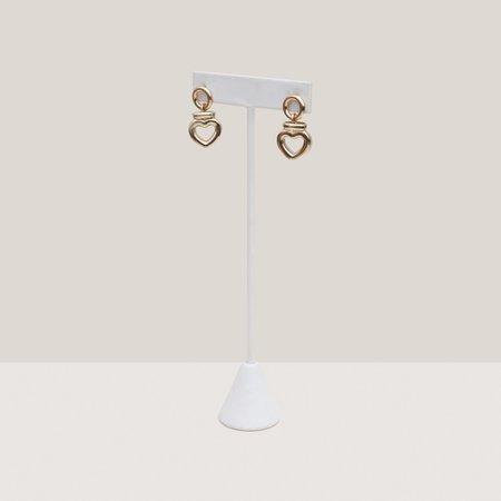Laura Lombardi Dolce Earrings - Brass