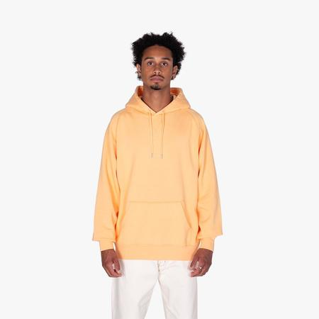 Pop Trading Company Logo Pullover Hoodie - Pepper Salmon