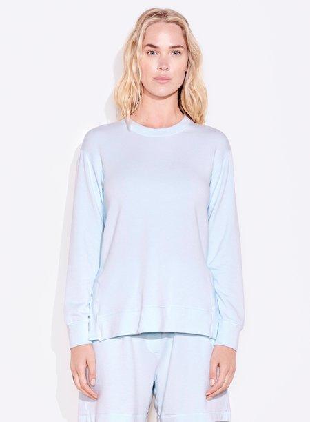 Sundry Tunic Sweatshirt - Aqua Blue