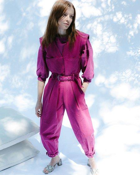 Rachel Comey Sahara Jumpsuit - Raspberry