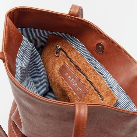 Erin Templeton Bucket Bag Tote - Caramel