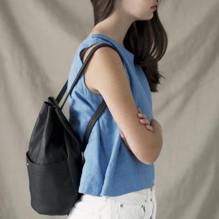 Erin Templeton Gunny Sack Backpack - Black
