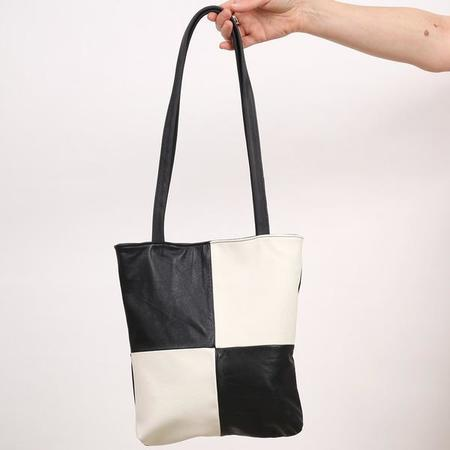 Erin Templeton Squaresville Tote Bag - Black/white