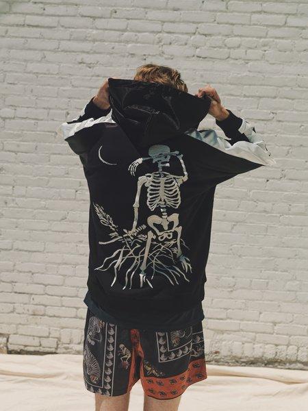 Lost Daze Skull Dove Zip Hoodie - Black