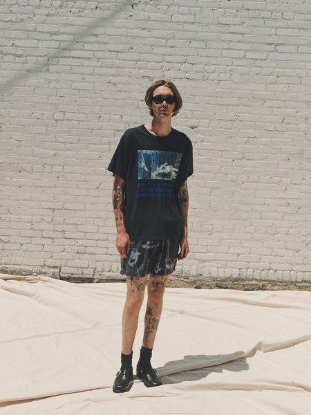 Lost Daze Silk Racing Shorts - Car Flip Print