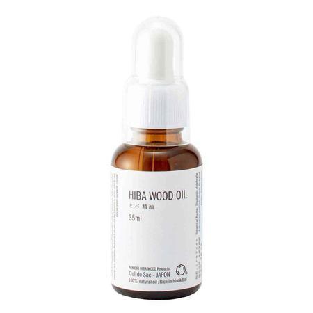 Cul de Sac Japan Hiba Wood Dropper Essential Oils