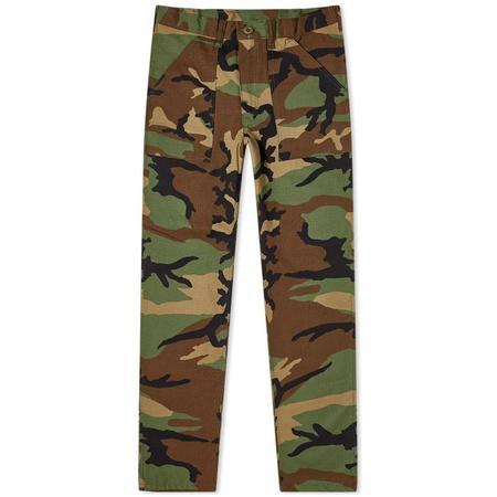Stan Ray Taper 4 Pocket Fatigue pants - Woodland R/S Camo