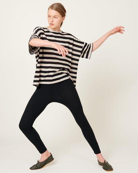 ICHI ANTIQUITES Cotton Leggings - Black