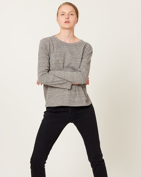ICHI ANTIQUITES Cotton Pullover - Grey
