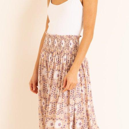 Natalie Martin Bella Skirt - Vintage Flowers Amethyst