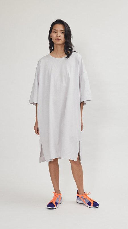 Issey Miyake Easy T Dress - Gray