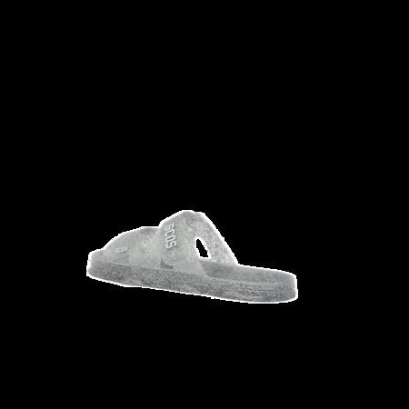 GCDS Glitter Rubber Sandals - Transparent