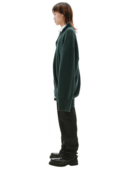 Balenciaga Asymmetric Sweater - green