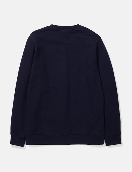 Norse Projects Vagn Logo Sweatshirt - Navy Blue